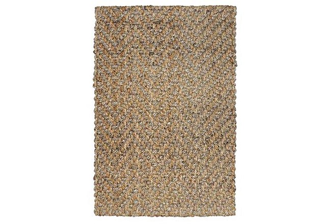24X36 Rug-Modern Herringbone Natural  - 360