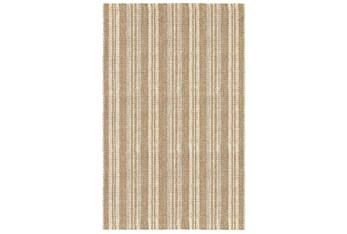 5'x8' Rug-Modern Stripe Seagrass Ivory