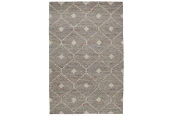 8'x10' Rug-Traditional Diamond Stone Gray