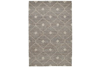 9'x12' Rug-Traditional Diamond Stone Gray