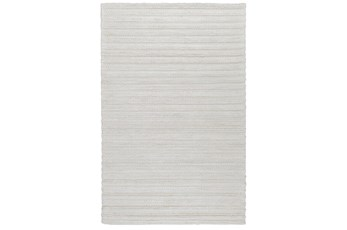 24X36 Rug-Modern Pearl Wool Blend