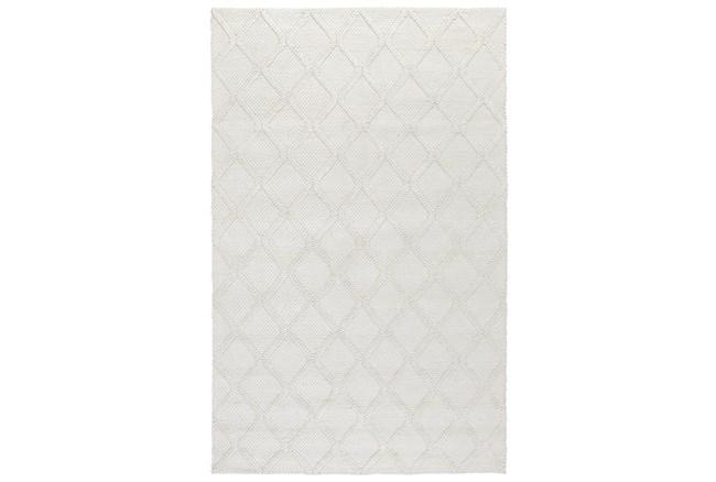 2'x3' Rug-Modern Pearl Wool Blend    - 360