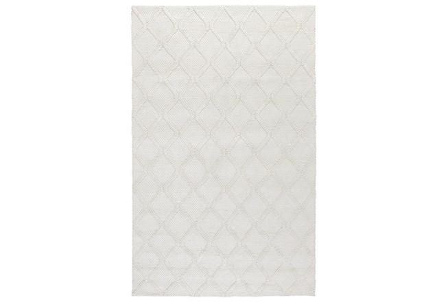 24X36 Rug-Modern Pearl Wool Blend    - 360