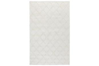 108X144 Rug-Modern Pearl Wool Blend
