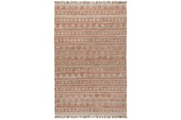 96X120 Rug-Modern Distressed Terracotta Natural