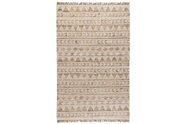 60X96 Rug-Modern Distressed Ivory Natural