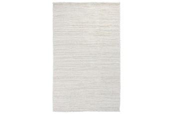 96X120 Rug-Rustic Birch White Woven