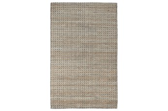 60X96 Rug-Rustic Black Natural