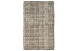 8'X10' Rug- Natural And Black Textured