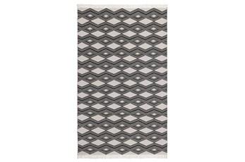 24X36 Rug-Contemporary Indoor Outdoor Charcoal