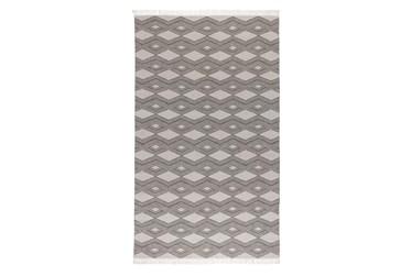 2'x3' Rug-Contemporary Indoor Outdoor Pebble Gray