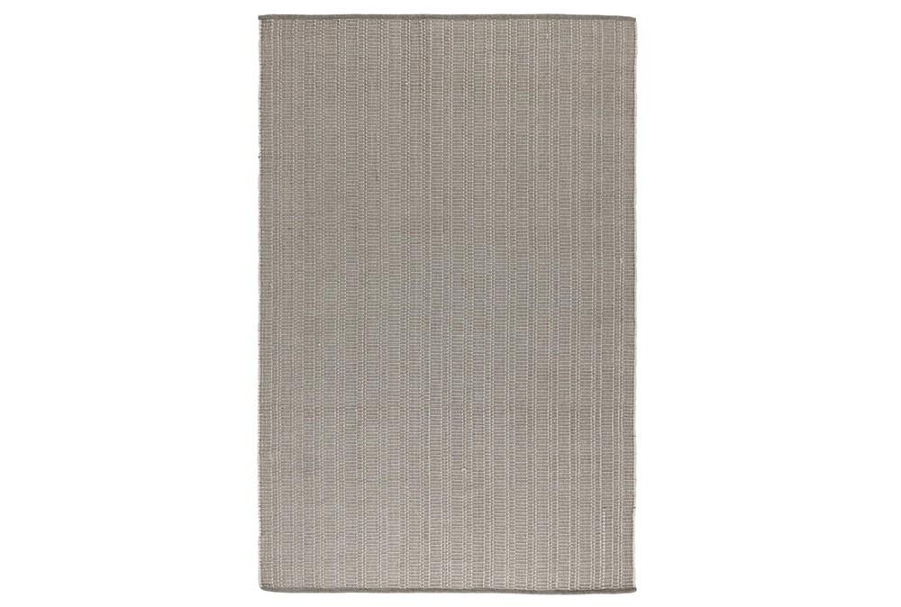 24X36 Rug-Modern Indoor Outdoor Pebble Gray