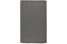 2'x3' Rug-Modern Indoor Outdoor Charcoal