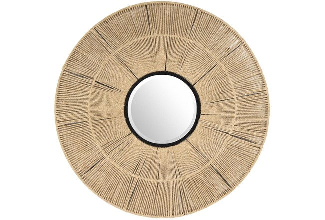 Mirror-Natural Jute 38X38 - 360