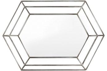Mirror-Silver + Metal 23X34