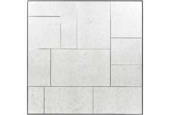 Mirror-Antiqued Mirror Tiles 42X42