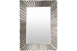 Mirror-Luxe Antiqued Silver 36X49