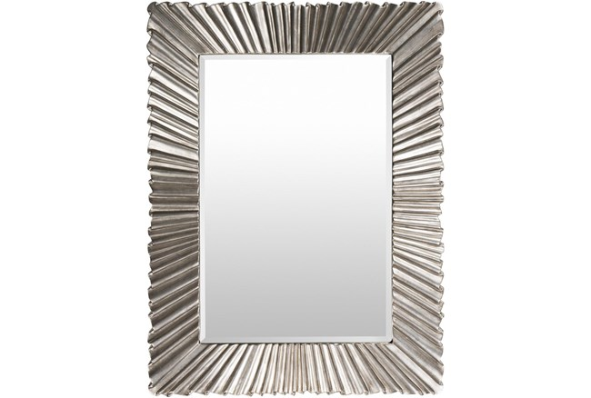 Mirror-Luxe Antiqued Silver 36X49 - 360
