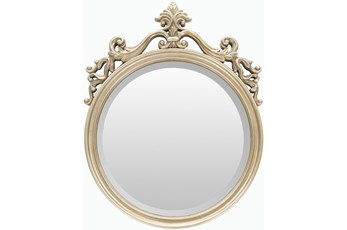 Mirror-Champagne Royal Round 20X25