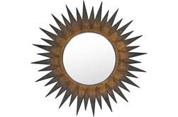 Mirror- Copper Sunburst 36X36
