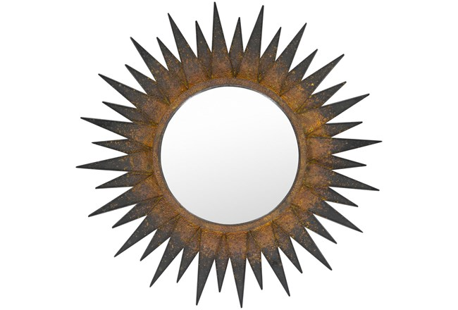 Mirror- Copper Sunburst 36X36 - 360