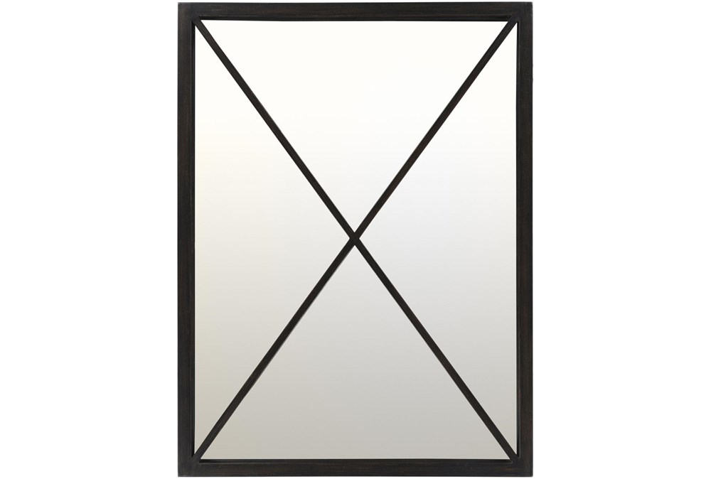 Mirror-Metal Black  X 30X40