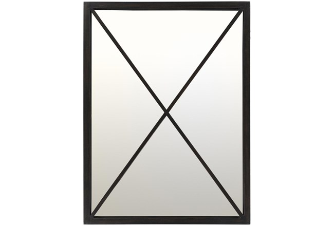 Mirror-Metal Black  X 30X40 - 360