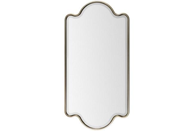 Mirror-Gold Trim 28X55 - 360