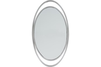 Mirror-Silver Nickel 27X48