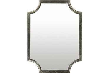 Mirror-Silver Gilded 30X40
