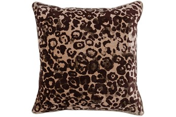 Accent Pillow-Fossil Brown Animal 22X22