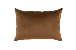 Accent Pillow-Chestnut Smooth Velvet 14X20