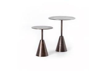Frisco Rust End Tables Set