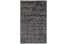 96X120 Rug-Modern Distressed Charcoal Woven