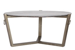 Mercedes Round Cocktail Table-Base