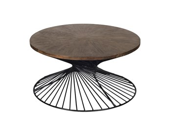 Kingston Round Cocktail Table