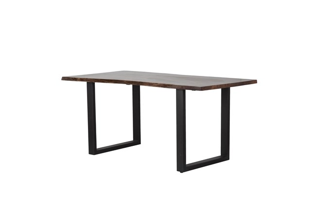 Medford Live Edge 82 Inch Dining Table - 360