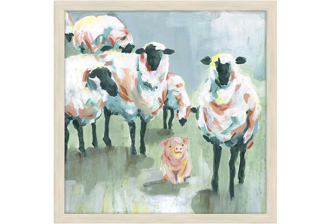 Picture-Watercolor Sheep - 360