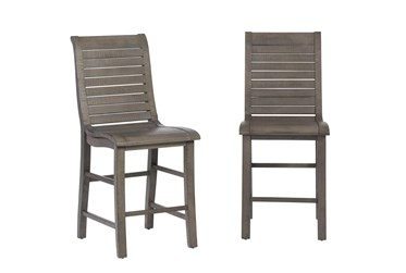 Willow Grey Counter Chair, Set Of 2
