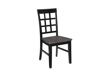 Salem Window Pane Dining Chair, Set Of 2