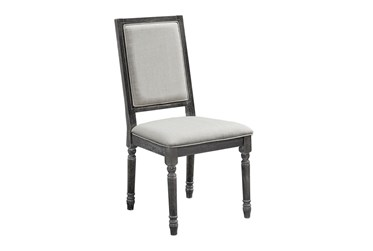 Muse Upholstered Back Chair, Set Of 2