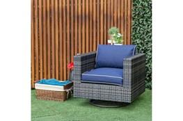 Dina Outdoor Swivel Chair