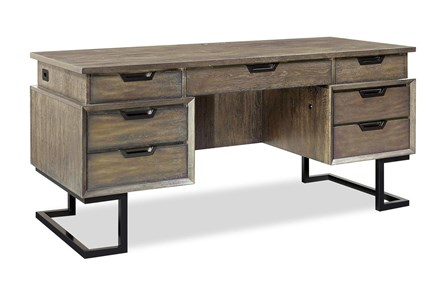 Kase 66 Inch Executive Desk - Main