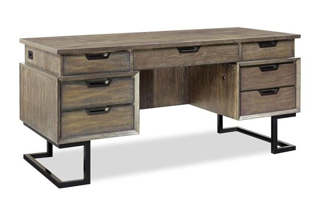 Kase 66 Inch Executive Desk - 360