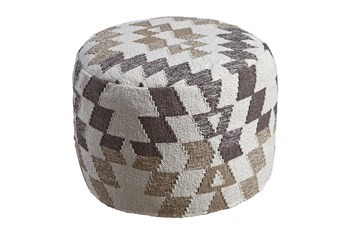 Pouf-Geometric Neutral