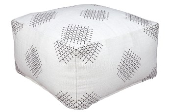 Pouf-Hand Threaded Multi