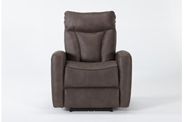 Bronco Chocolate Power Recliner