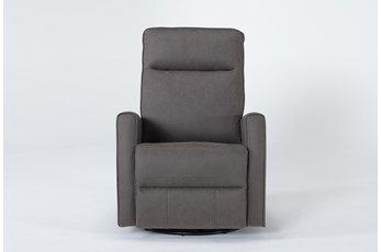 Rove Grey Swivel Glider Recliner