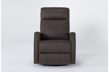 Rove Brown Swivel Glider Recliner