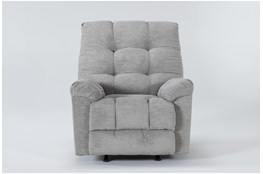 Layden Light Grey Rocker Recliner
